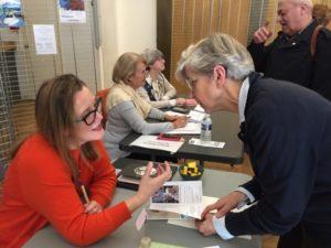Ariane Rose d'Esthymie au Forum Bien vieillir dans le 9è